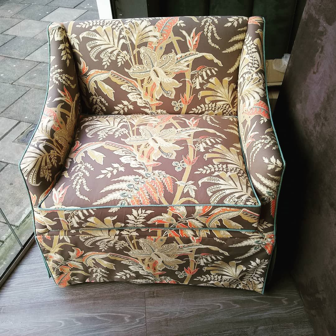 Loose-cover-armchair