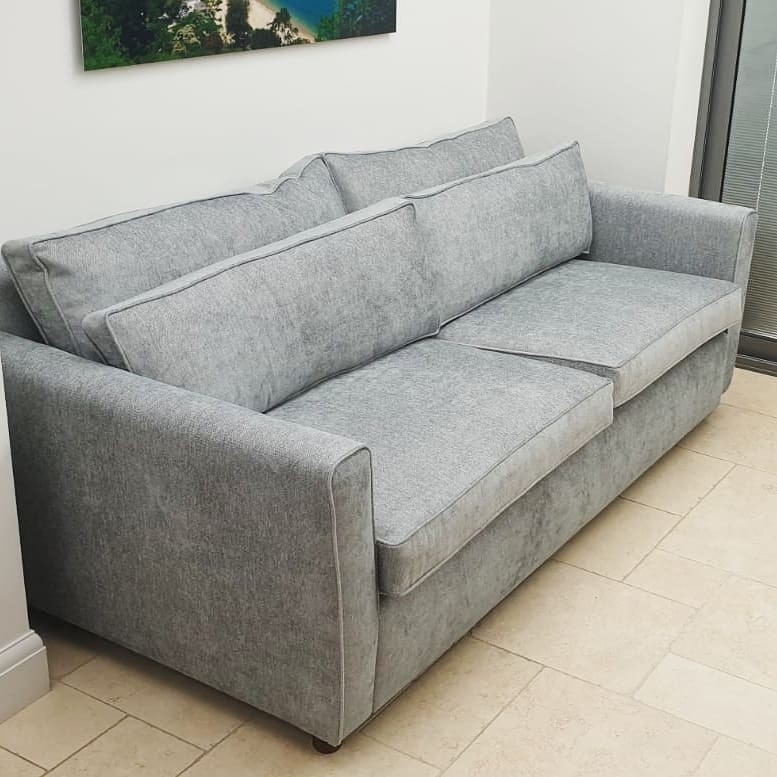 Silver-couch