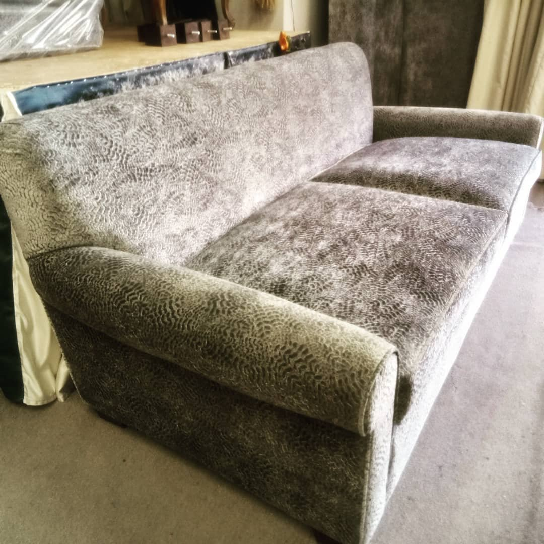 Two-seat-sofa-upholstery